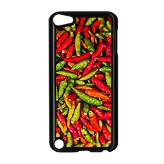 Chilli Pepper Spicy Hot Red Spice Apple Ipod Touch 5 Case (black) by Celenk