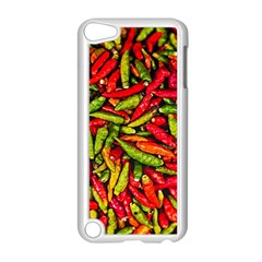 Chilli Pepper Spicy Hot Red Spice Apple Ipod Touch 5 Case (white) by Celenk