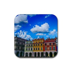 Buildings Architecture Architectural Rubber Coaster (square)