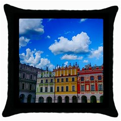 Buildings Architecture Architectural Throw Pillow Case (black)