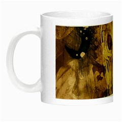 Skull Demon Scary Halloween Horror Night Luminous Mugs