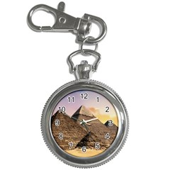 Pyramids Egypt Key Chain Watches by Celenk