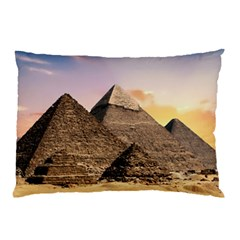 Pyramids Egypt Pillow Case (two Sides) by Celenk