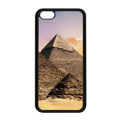 Pyramids Egypt Apple Iphone 5c Seamless Case (black) by Celenk