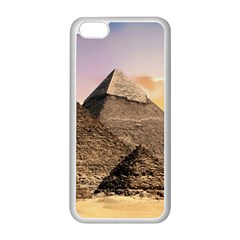 Pyramids Egypt Apple Iphone 5c Seamless Case (white) by Celenk