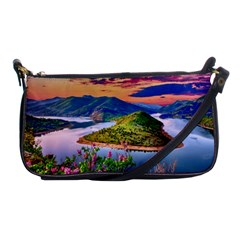 Landscape River Nature Water Sky Shoulder Clutch Bags