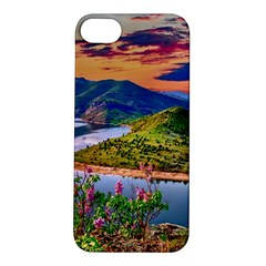 Landscape River Nature Water Sky Apple Iphone 5s/ Se Hardshell Case by Celenk