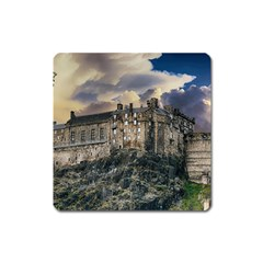 Castle Monument Landmark Square Magnet