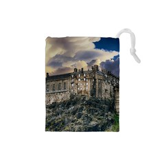 Castle Monument Landmark Drawstring Pouches (small)