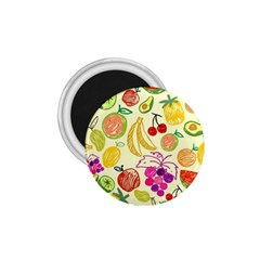 Cute Fruits Pattern 1 75  Magnets by paulaoliveiradesign