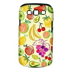Cute Fruits Pattern Samsung Galaxy S Iii Classic Hardshell Case (pc+silicone) by paulaoliveiradesign