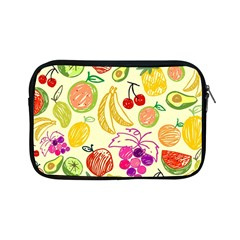 Cute Fruits Pattern Apple Ipad Mini Zipper Cases by paulaoliveiradesign