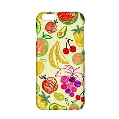Cute Fruits Pattern Apple Iphone 6/6s Hardshell Case by paulaoliveiradesign