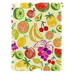 Cute Fruits Pattern Apple Ipad 3/4 Hardshell Case (compatible With Smart Cover) by paulaoliveiradesign