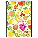 Cute Fruits Pattern Apple iPad Pro 9.7   Black Seamless Case Front