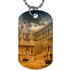 Palace Monument Architecture Dog Tag (one Side) by Celenk