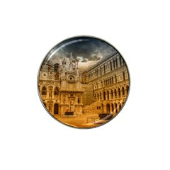 Palace Monument Architecture Hat Clip Ball Marker by Celenk