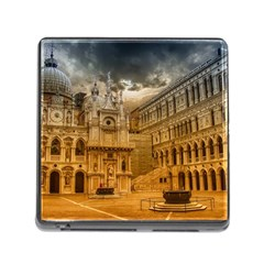 Palace Monument Architecture Memory Card Reader (square) by Celenk