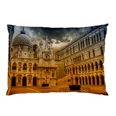 Palace Monument Architecture Pillow Case (two Sides)