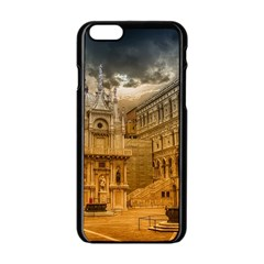 Palace Monument Architecture Apple Iphone 6/6s Black Enamel Case by Celenk