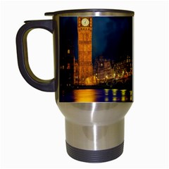 London Skyline England Landmark Travel Mugs (white) by Celenk