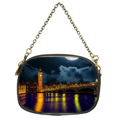 London Skyline England Landmark Chain Purses (two Sides)  by Celenk