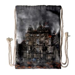 Armageddon War Apocalypse Drawstring Bag (large) by Celenk