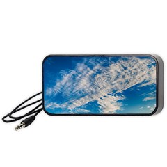 Clouds Sky Scene Portable Speaker
