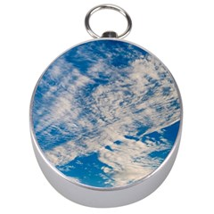 Clouds Sky Scene Silver Compasses by Celenk