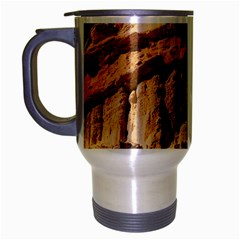 Canyon Dramatic Landscape Sky Travel Mug (silver Gray) by Celenk