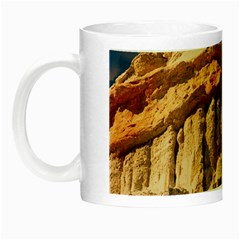 Canyon Dramatic Landscape Sky Night Luminous Mugs by Celenk