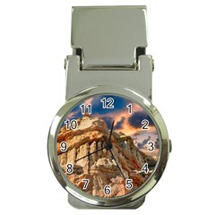 Canyon Dramatic Landscape Sky Money Clip Watches by Celenk