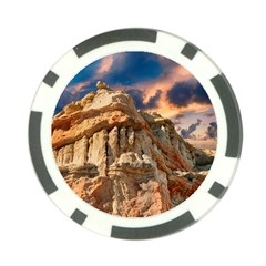 Canyon Dramatic Landscape Sky Poker Chip Card Guard by Celenk