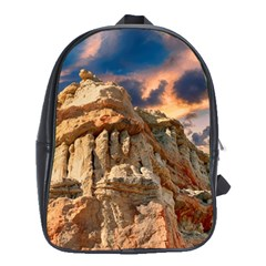 Canyon Dramatic Landscape Sky School Bag (large) by Celenk