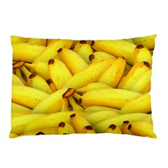 Yellow Banana Fruit Vegetarian Natural Pillow Case (two Sides)