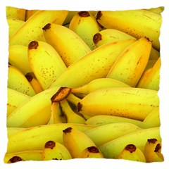 Yellow Banana Fruit Vegetarian Natural Large Cushion Case (one Side)