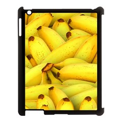 Yellow Banana Fruit Vegetarian Natural Apple Ipad 3/4 Case (black) by Celenk