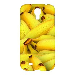Yellow Banana Fruit Vegetarian Natural Samsung Galaxy S4 I9500/i9505 Hardshell Case by Celenk