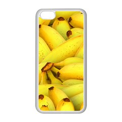 Yellow Banana Fruit Vegetarian Natural Apple Iphone 5c Seamless Case (white) by Celenk