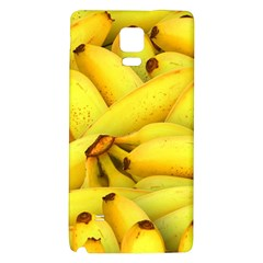 Yellow Banana Fruit Vegetarian Natural Galaxy Note 4 Back Case by Celenk