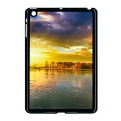 Landscape Lake Sun Sky Nature Apple Ipad Mini Case (black)