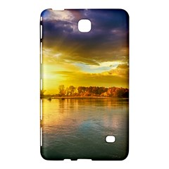 Landscape Lake Sun Sky Nature Samsung Galaxy Tab 4 (8 ) Hardshell Case  by Celenk