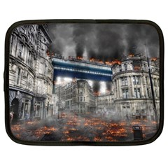 Destruction City Building Netbook Case (xl)