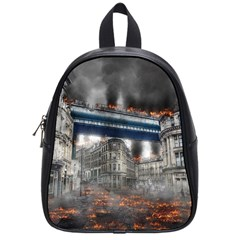 Destruction City Building School Bag (small)