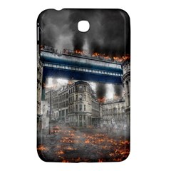 Destruction City Building Samsung Galaxy Tab 3 (7 ) P3200 Hardshell Case  by Celenk