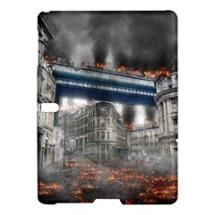 Destruction City Building Samsung Galaxy Tab S (10 5 ) Hardshell Case  by Celenk