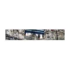 Destruction City Building Flano Scarf (mini) by Celenk