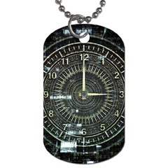 Time Machine Science Fiction Future Dog Tag (one Side)