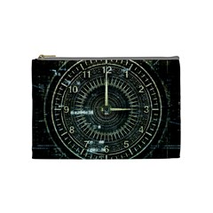 Time Machine Science Fiction Future Cosmetic Bag (medium)