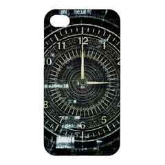 Time Machine Science Fiction Future Apple Iphone 4/4s Premium Hardshell Case by Celenk